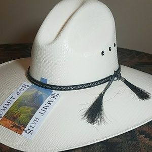 d8ff426d4 Gus canvas cowboy hat w/horsehair band Boutique